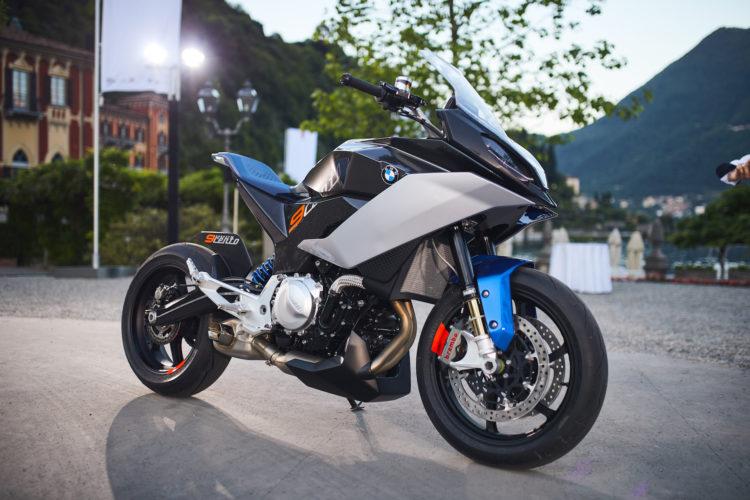 Bmw Motorrad Concept 9cento Praktikabler Allround Sportler Feiert Premiere Am Comer See