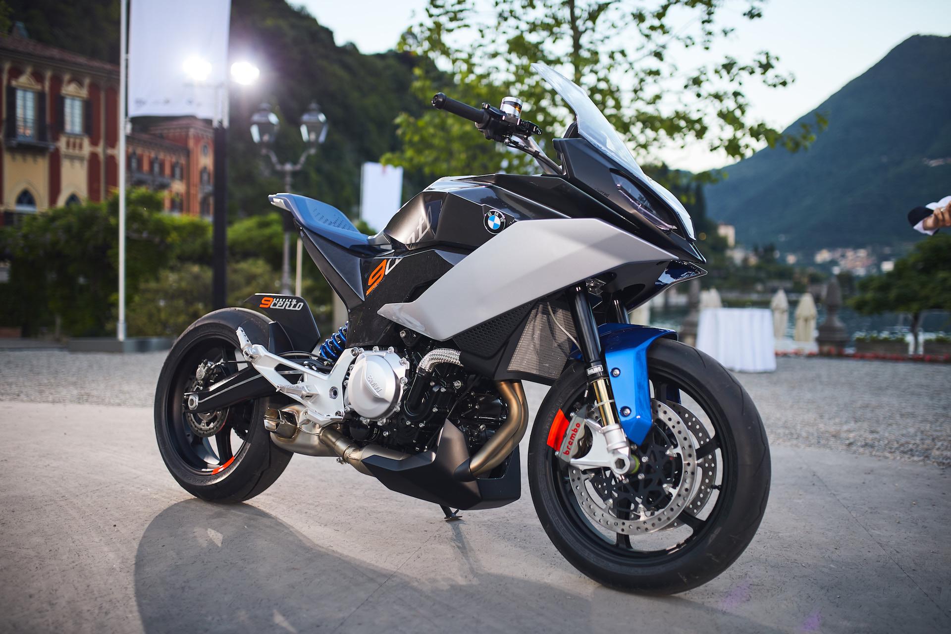 Bmw Motorrad Concept 9cento Praktikabler Allround