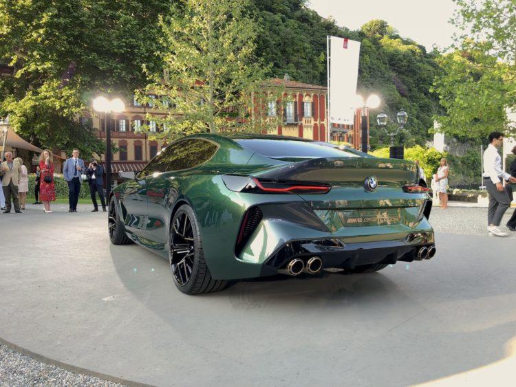 Bmw Concept M8 Gran Coupe Neue Live Bilder Und Video