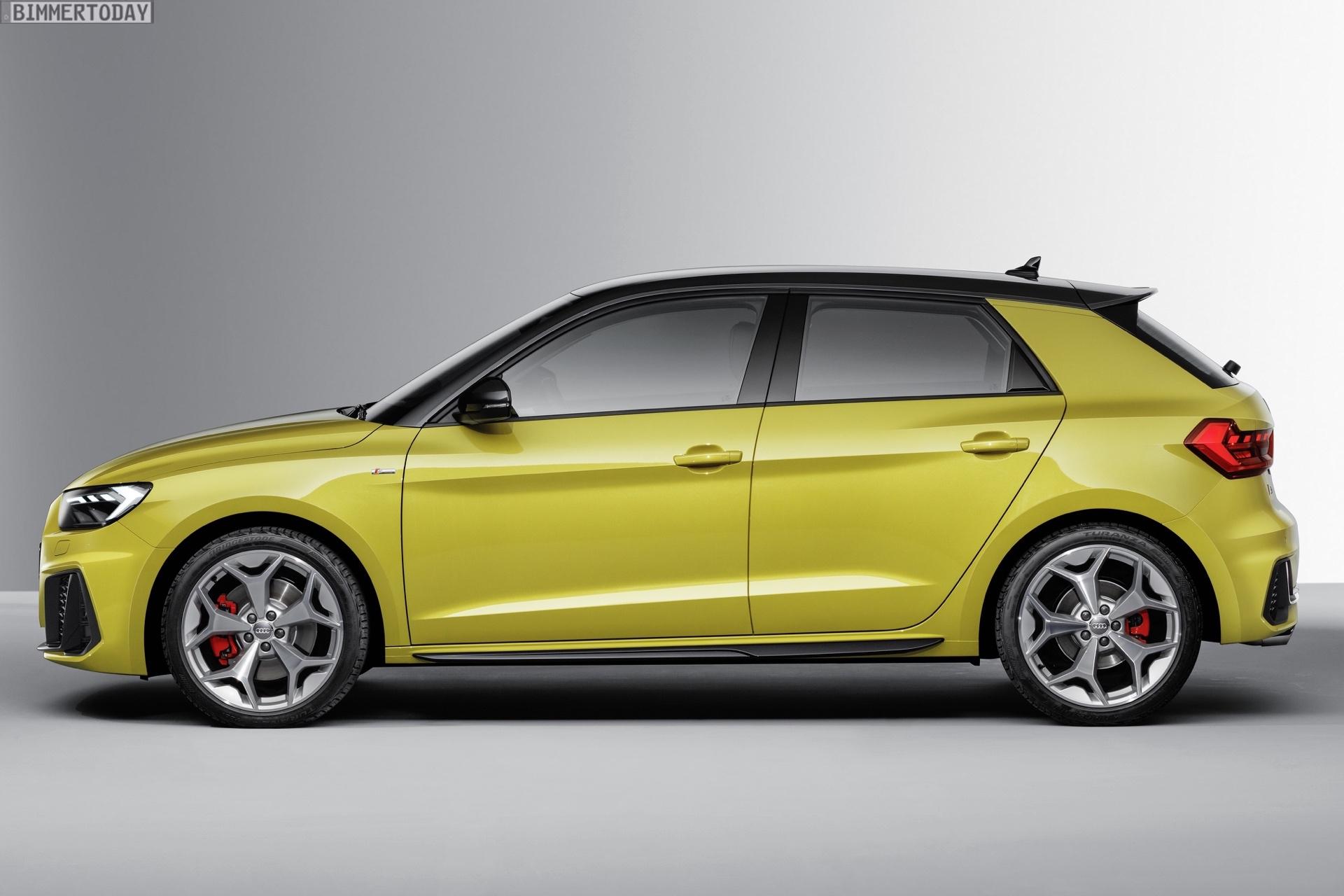 Bild Vergleich Neuer Audi A1 2018 Trifft Mini Funfturer F55 Lci
