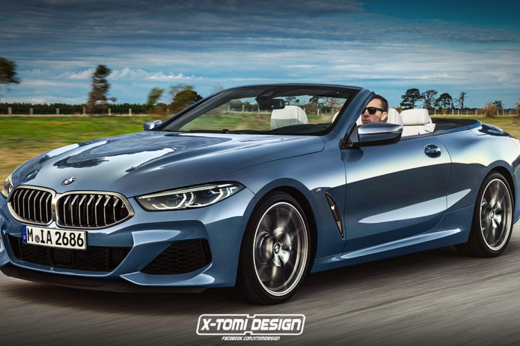 bmw 8er cabrio 2019 v llig ungetarnt beim foto shooting. Black Bedroom Furniture Sets. Home Design Ideas