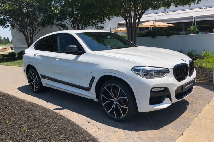 erste live fotos bmw x4 g02 mit bmw m performance tuning. Black Bedroom Furniture Sets. Home Design Ideas