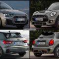 Bild Vergleich Neuer Audi A1 2018 Trifft Mini Fünftürer F55 Lci
