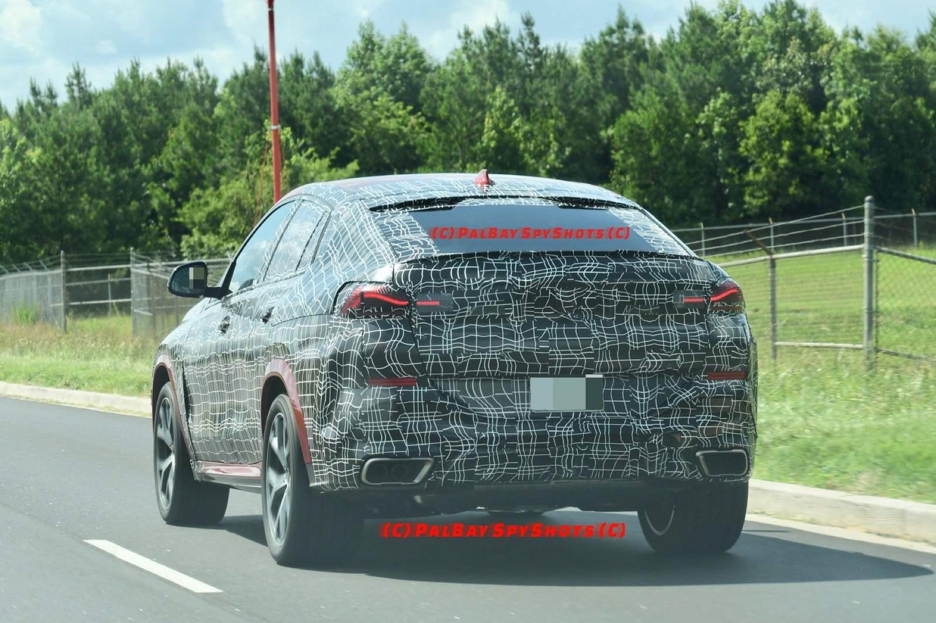 Bmw X6 2019 Erste Erlkonig Fotos Zeigen Suv Coupe G06