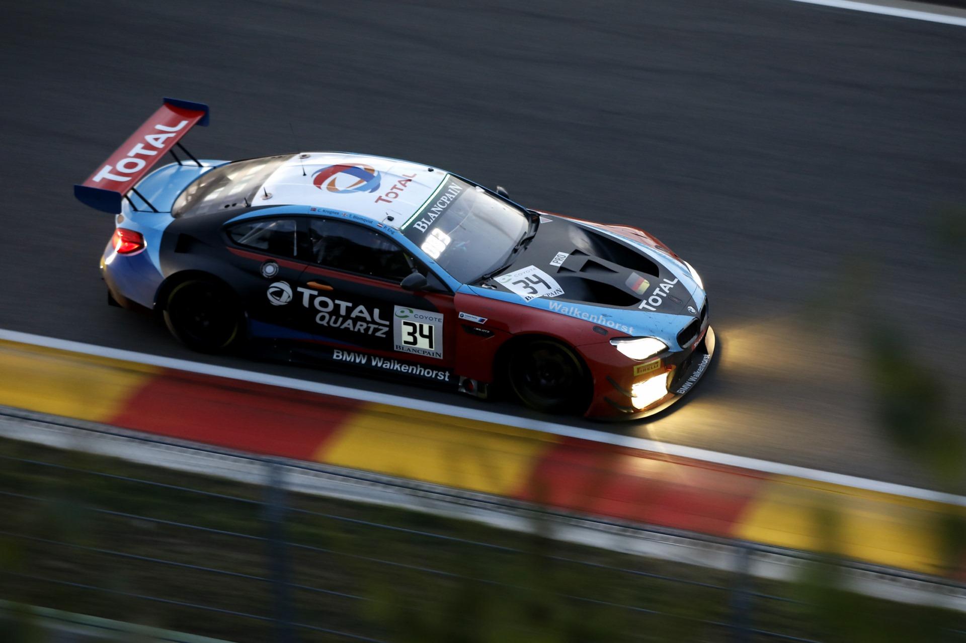 24h Spa 2018 Bmw M6 Gt3 Holt Doppelsieg In Den Ardennen