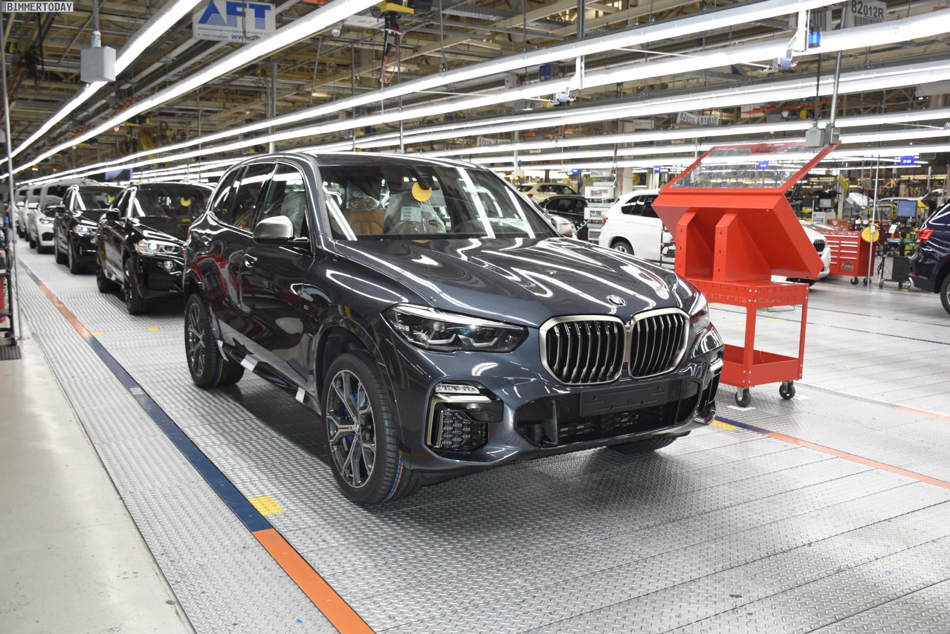 BMW X7 2018 >> BMW X5 G05: Produktion im Werk Spartanburg beginnt bald