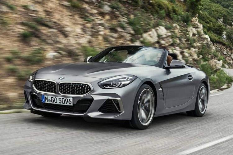 Bmw Z4 Roadster Neue Videos Zeigen M40i G29 In Dunkelgrau