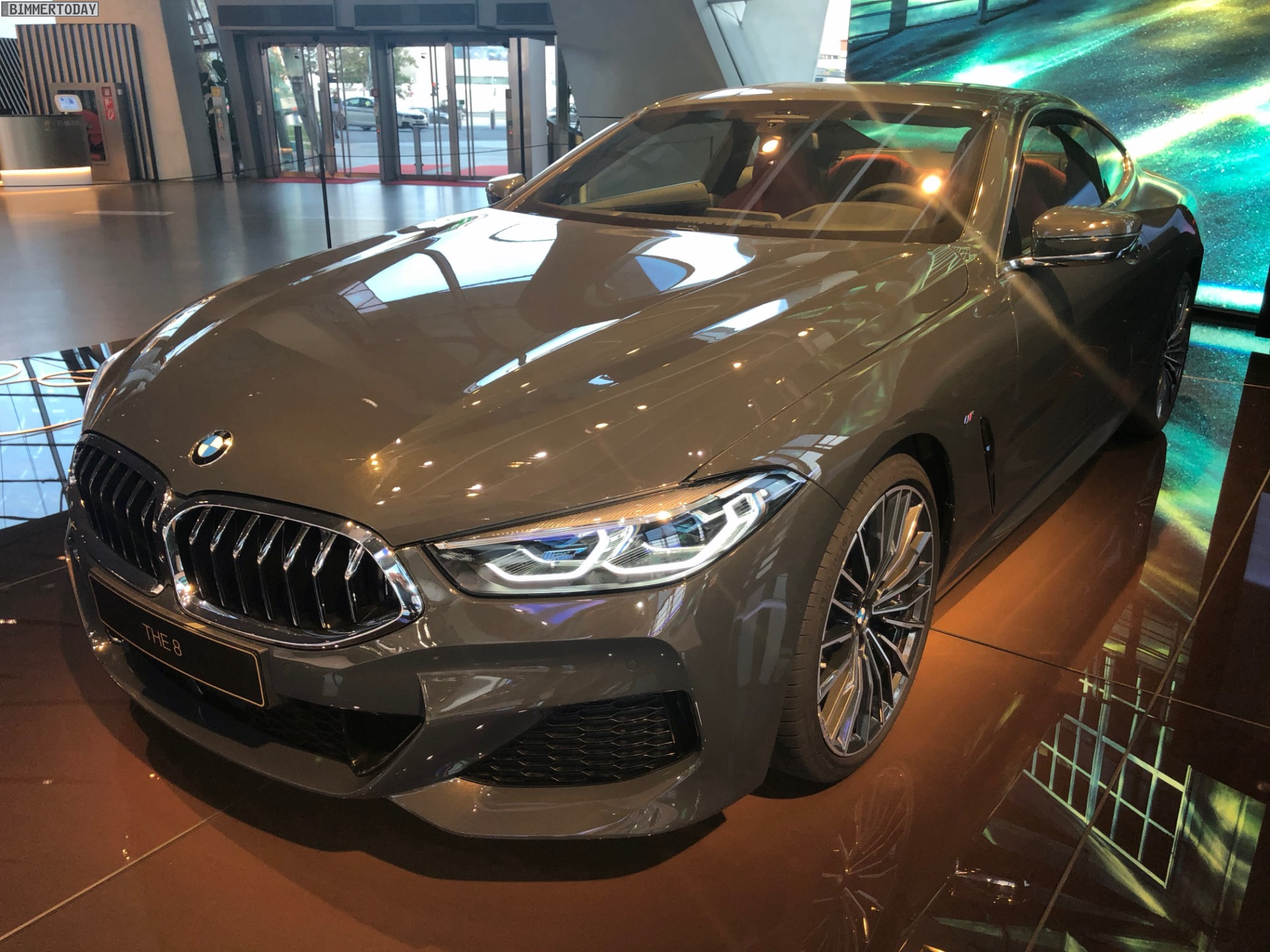 bmw 840d g15 8er m sport in dravitgrau in der bmw welt. Black Bedroom Furniture Sets. Home Design Ideas