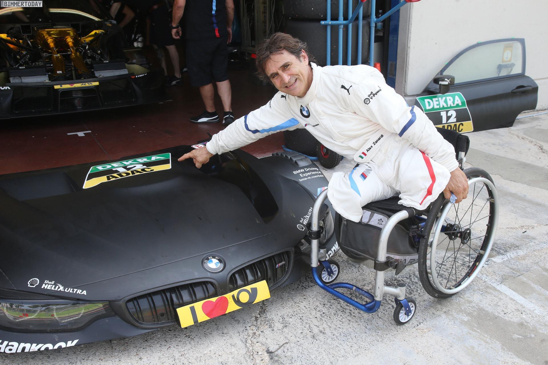 Alex Zanardi Meistert Vallelunga Test Im Bmw M4 Dtm
