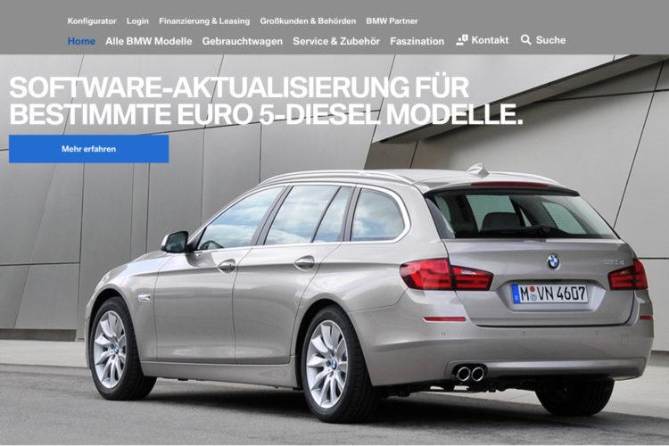 BMW Diesel: Software-Update für Euro 5-Diesel (VIN-Check)