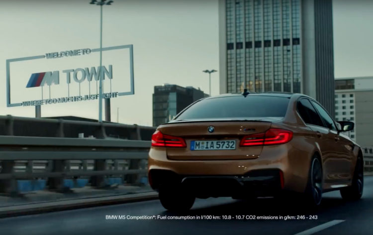 Bmw M4 Coupe >> Neue BMW M Town Werbung: Where too much is just right