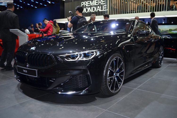 Paris 2018: BMW 8er G15 als 840d M Sport in Saphirschwarz