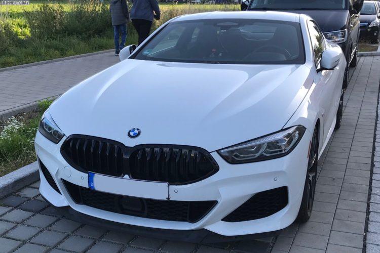 Bmw 8er Coupe Neue Fotos Zeigen G15 Mit M Paket In Weiss