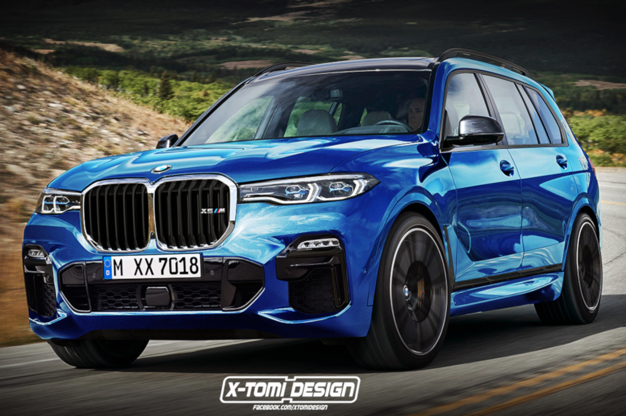 Bmw X7 M Photoshop Entwurf Zeigt Power Suv Monster