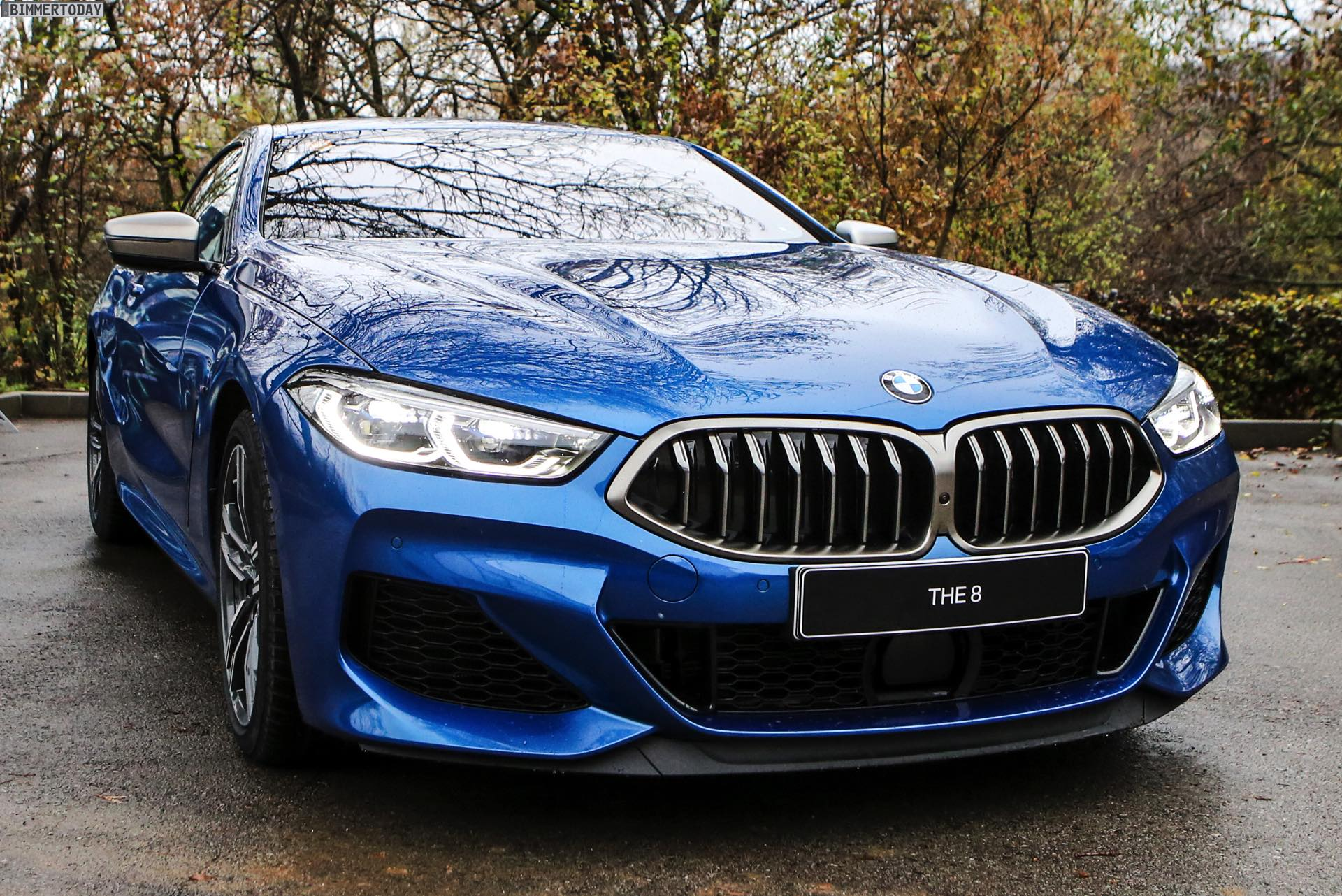 BMW M2 Cs >> Mehr Fotos: BMW 8er G15 als M850i in Sonic Speed Blue