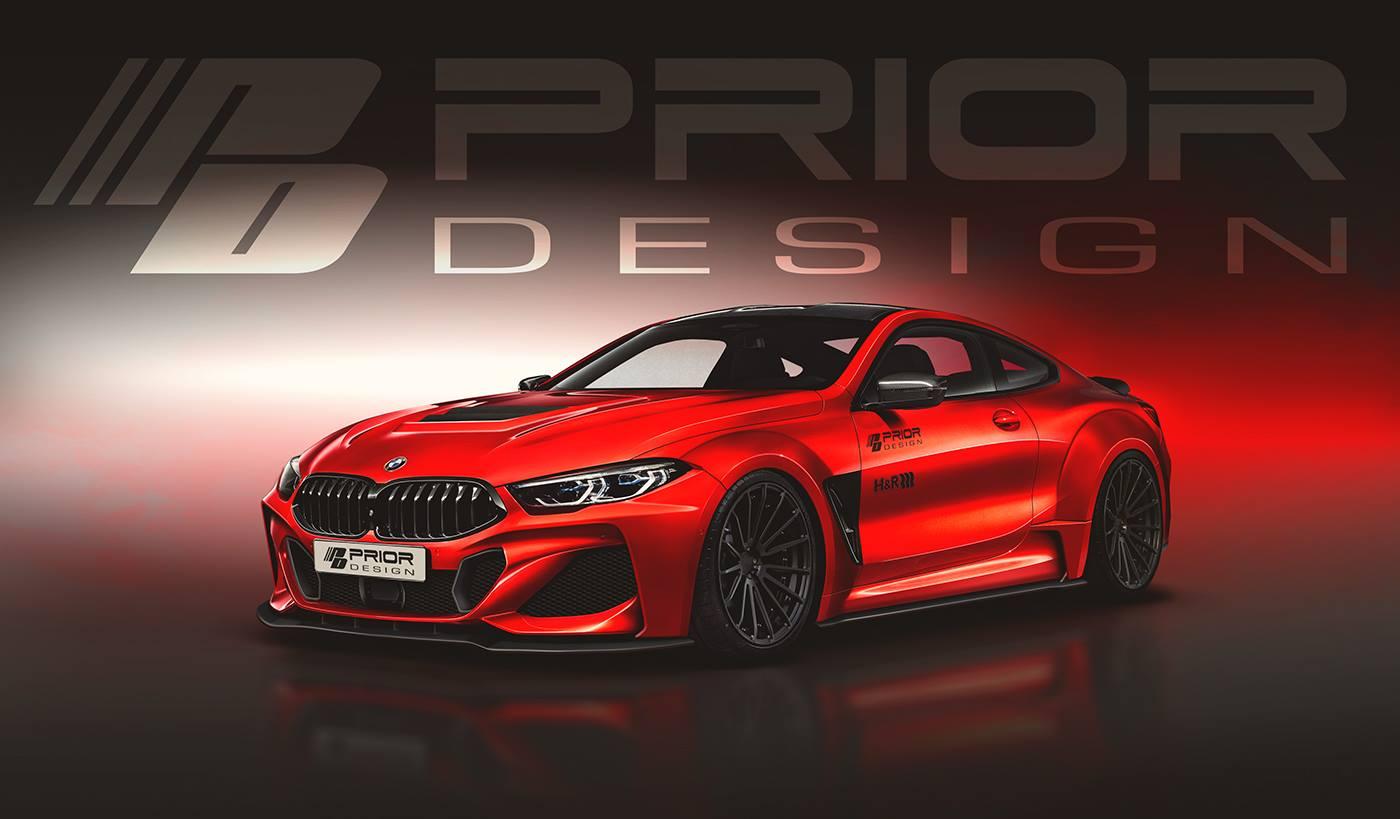 Prior-Design Tuning: Bodykit-Vorschau für den BMW 8er G15