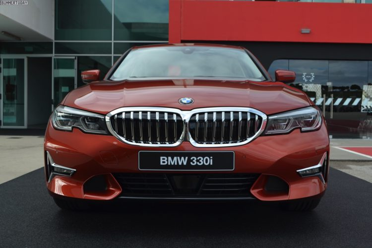 Bmw 3er G20 Sunset Orange Trifft Luxury Line Am 330i