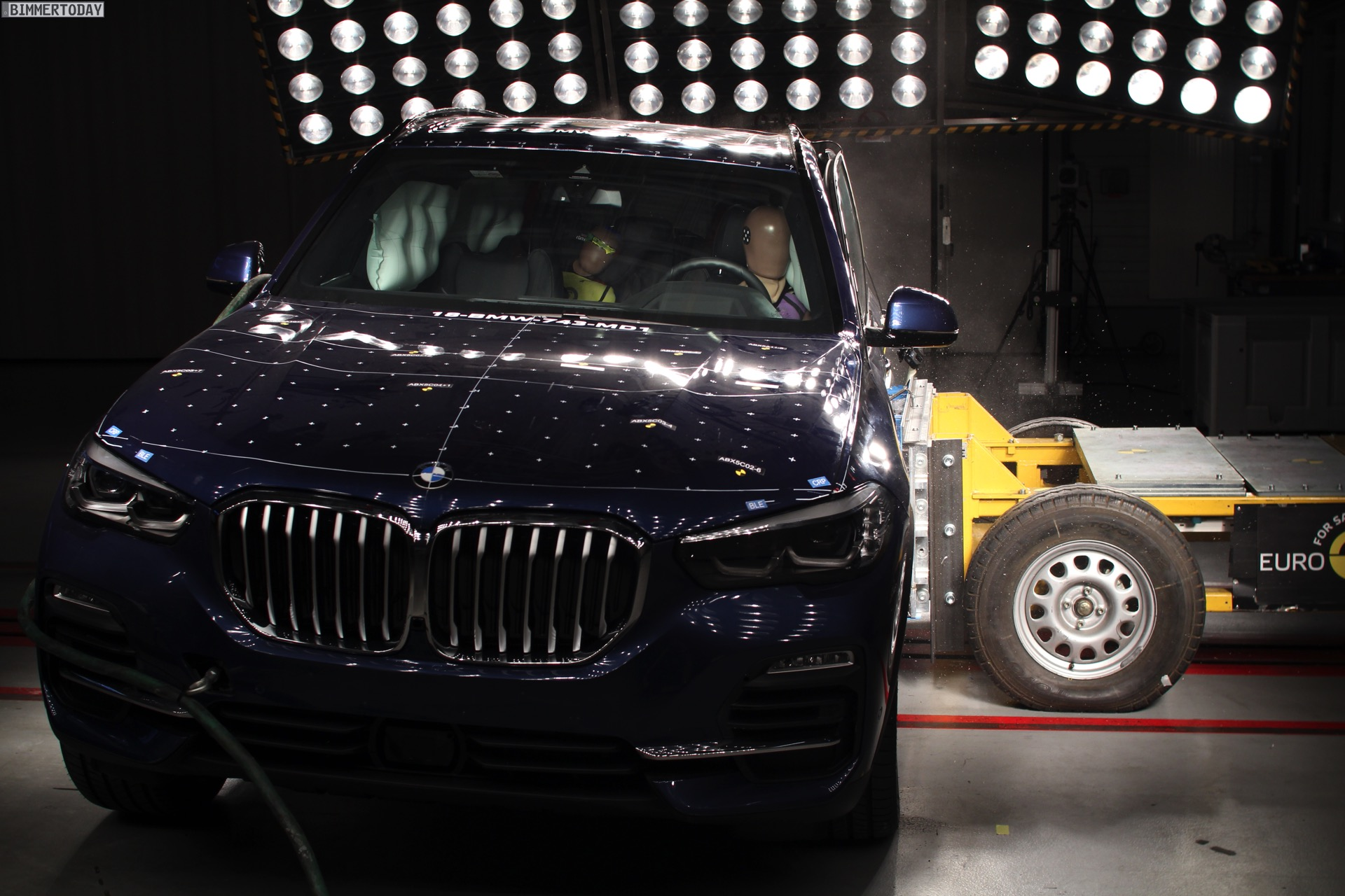 BMW X5 G05: Fünf Sterne im Euro NCAP Crashtest