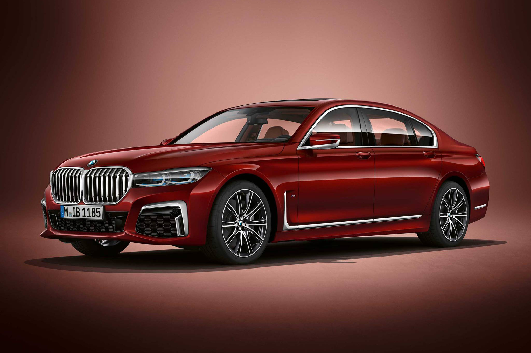 Bmw Individual M760li Facelift 2019 In Aventurine Red Co