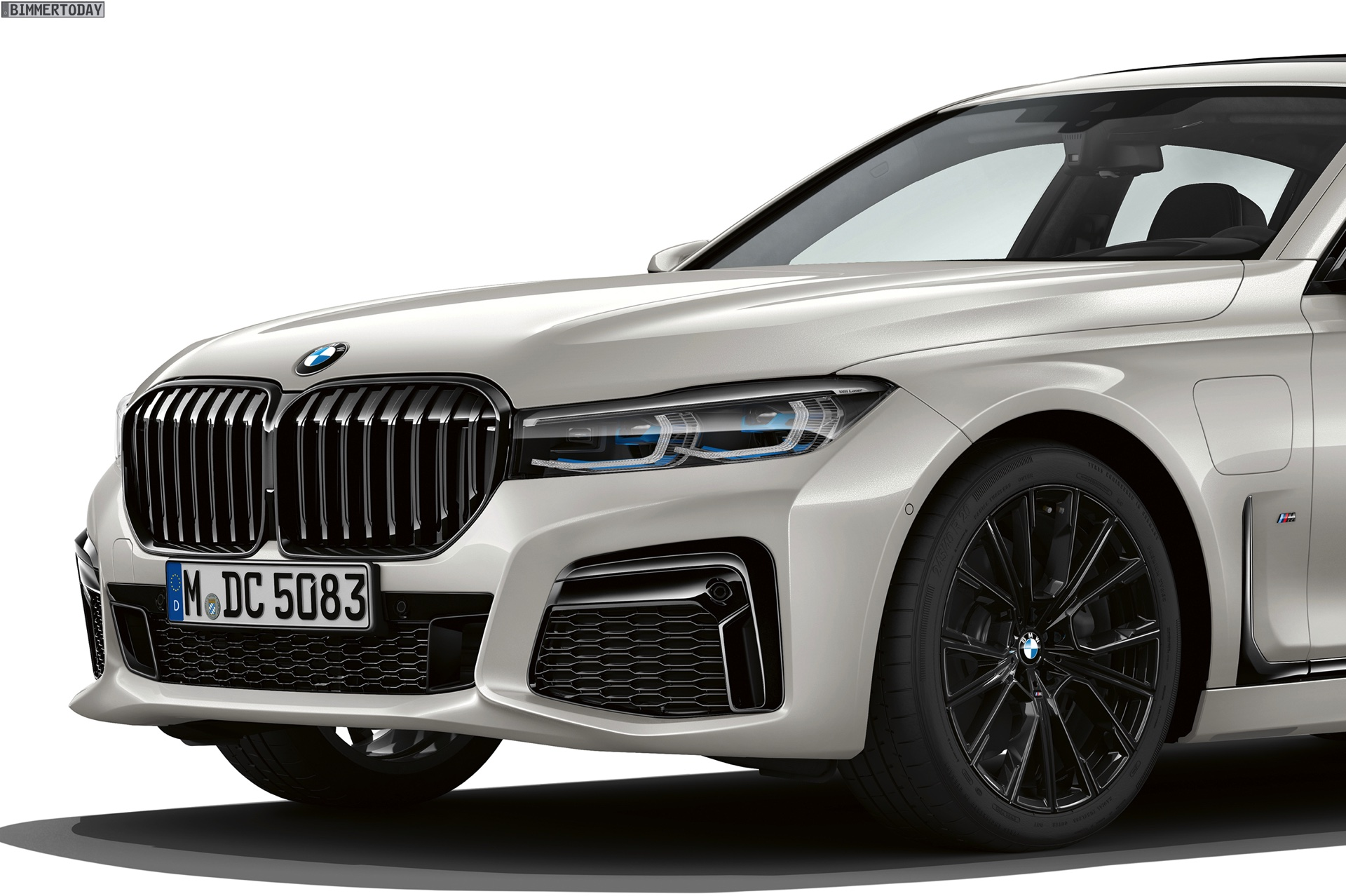 Super BMW 7er Facelift 2019: M Sport mit erweiterter Shadow Line XM-85