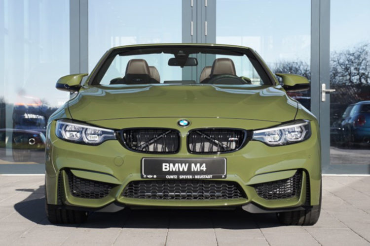 Bmw Individual M4 Competition Cabrio In Seltenem Urban Green