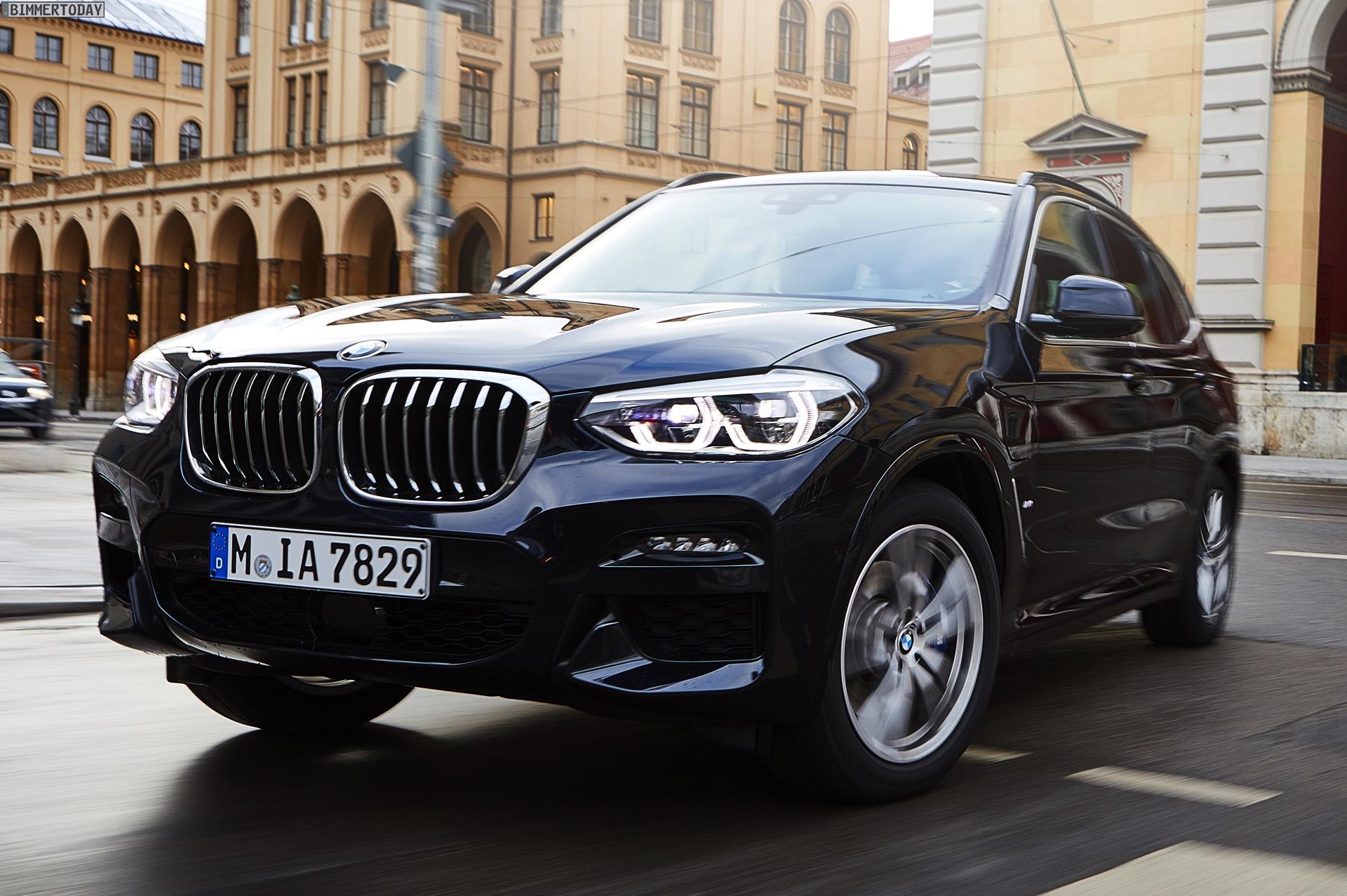 2020 BMW X3 Hybrid Speed Test