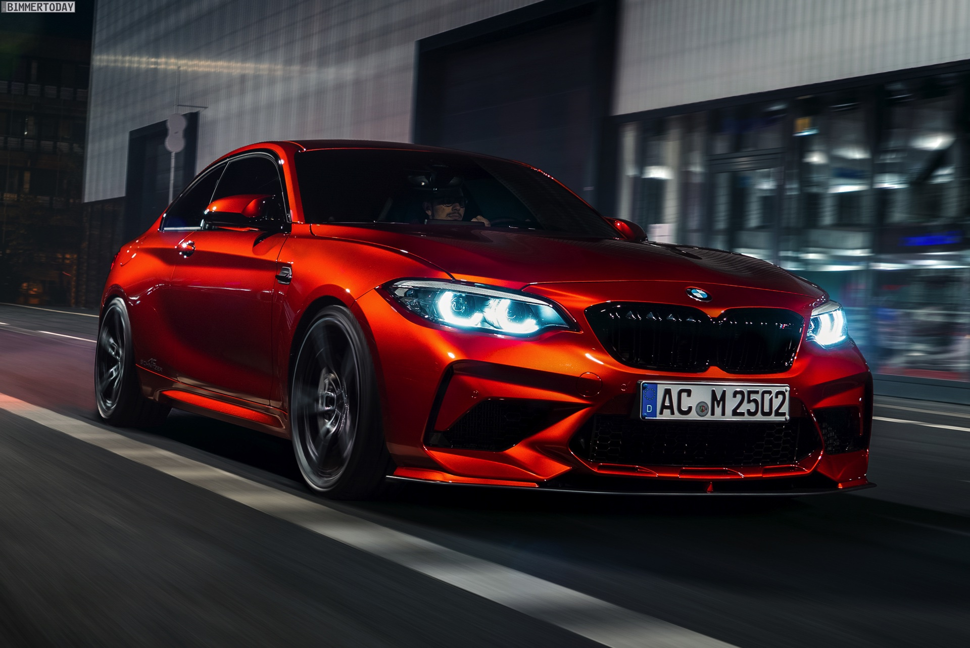 BMW M2 Cs >> AC Schnitzer Tuning: 500-PS-S55 im BMW M2 Competition