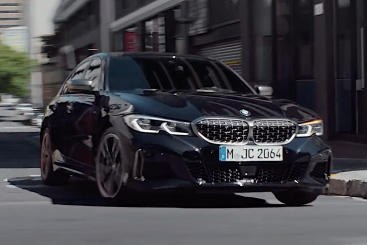 Bmw M340i Neuer Werbe Clip Zum 3er G20 Mit M Performance