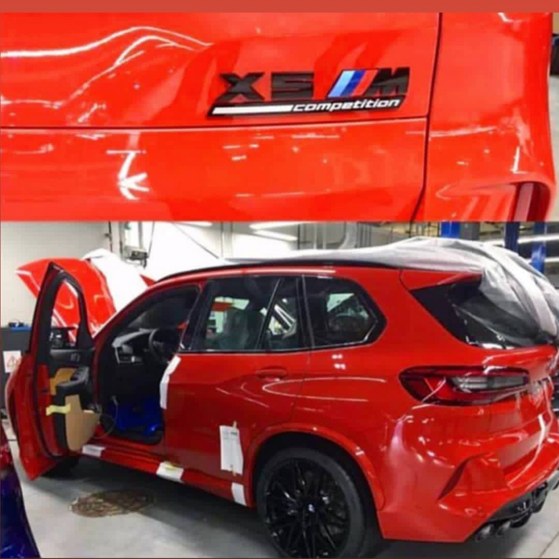 Bmw X5 M 2020 Leak Enth 252 Llt Competition G05 Update