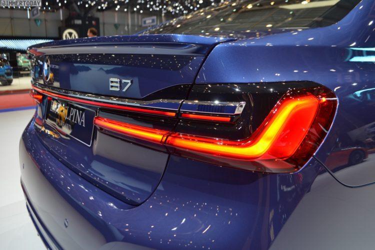 Genf 2019 Live Fotos Zeigen Bmw Alpina B7 Facelift G12 Lci
