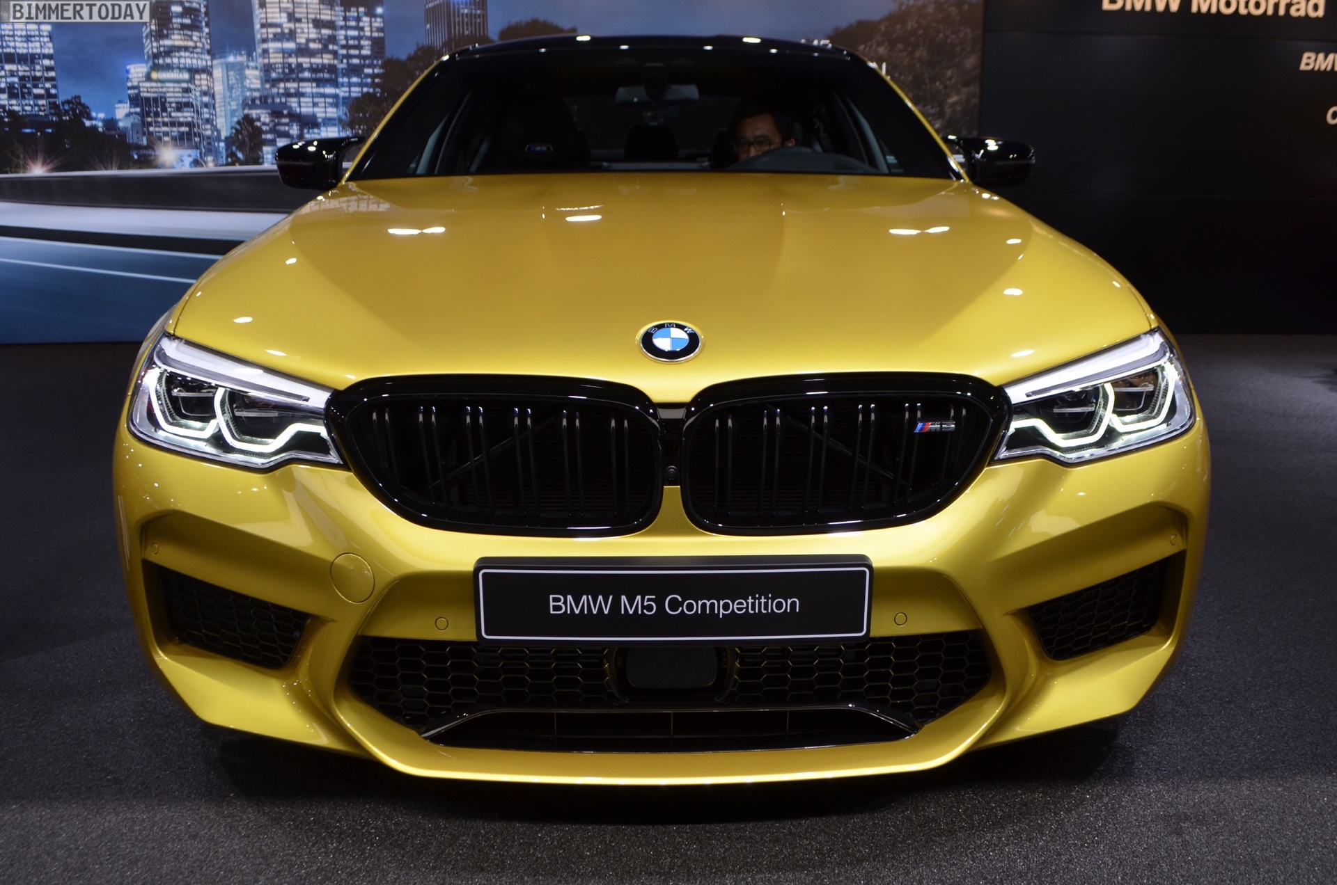 Genf 2019 Bmw Individual M5 Competition In Austin Yellow