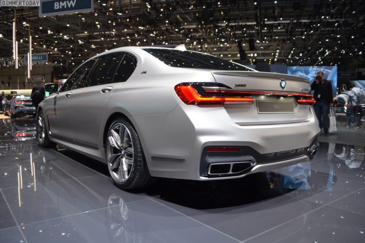 Genf 2019 Bmw M760li Facelift In Individual Frozen Cashmere