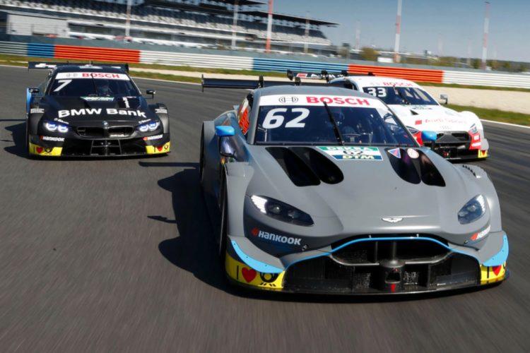 Dtm 2019 Aston Martin Audi Und Bmw Testen Gemeinsam