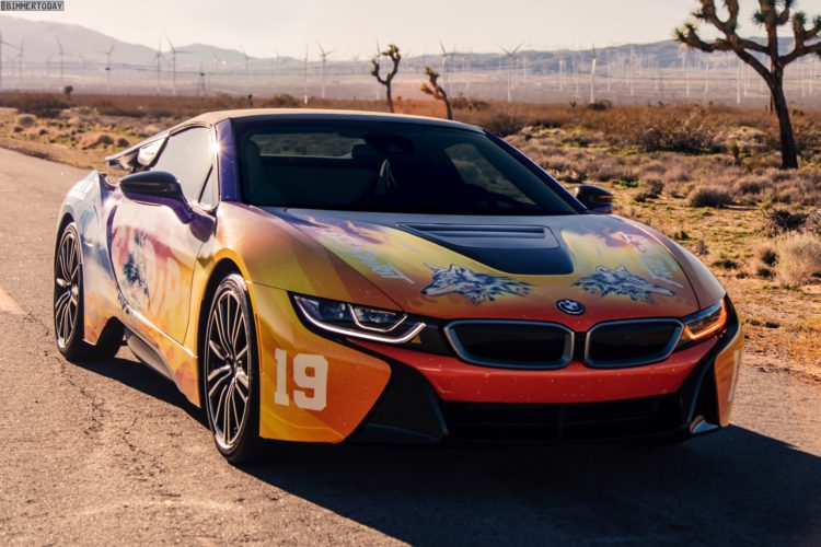 Bmw I8 Roadster Art Car Road To Coachella Im Khalid Design