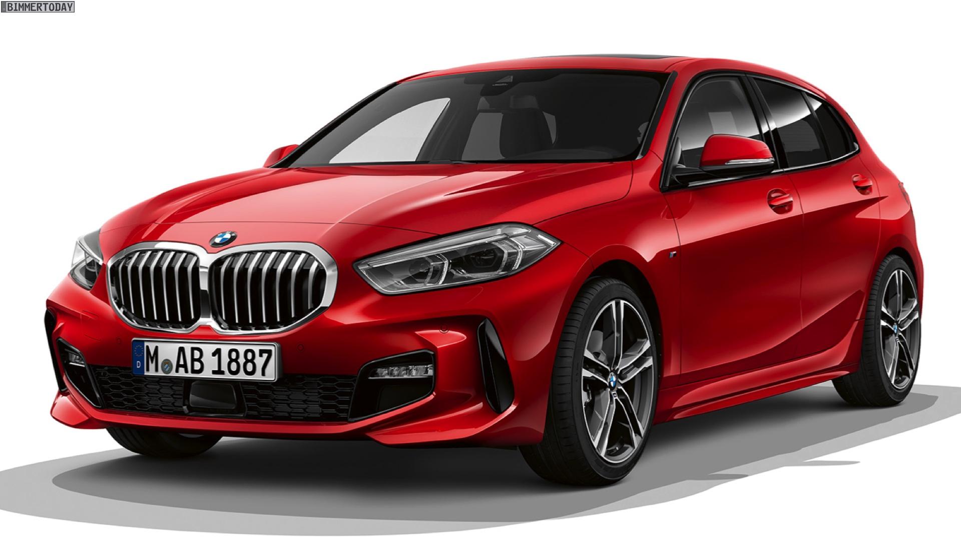 Bmw 1er F40 M Sport Sport Line Luxury Line Im Vergleich