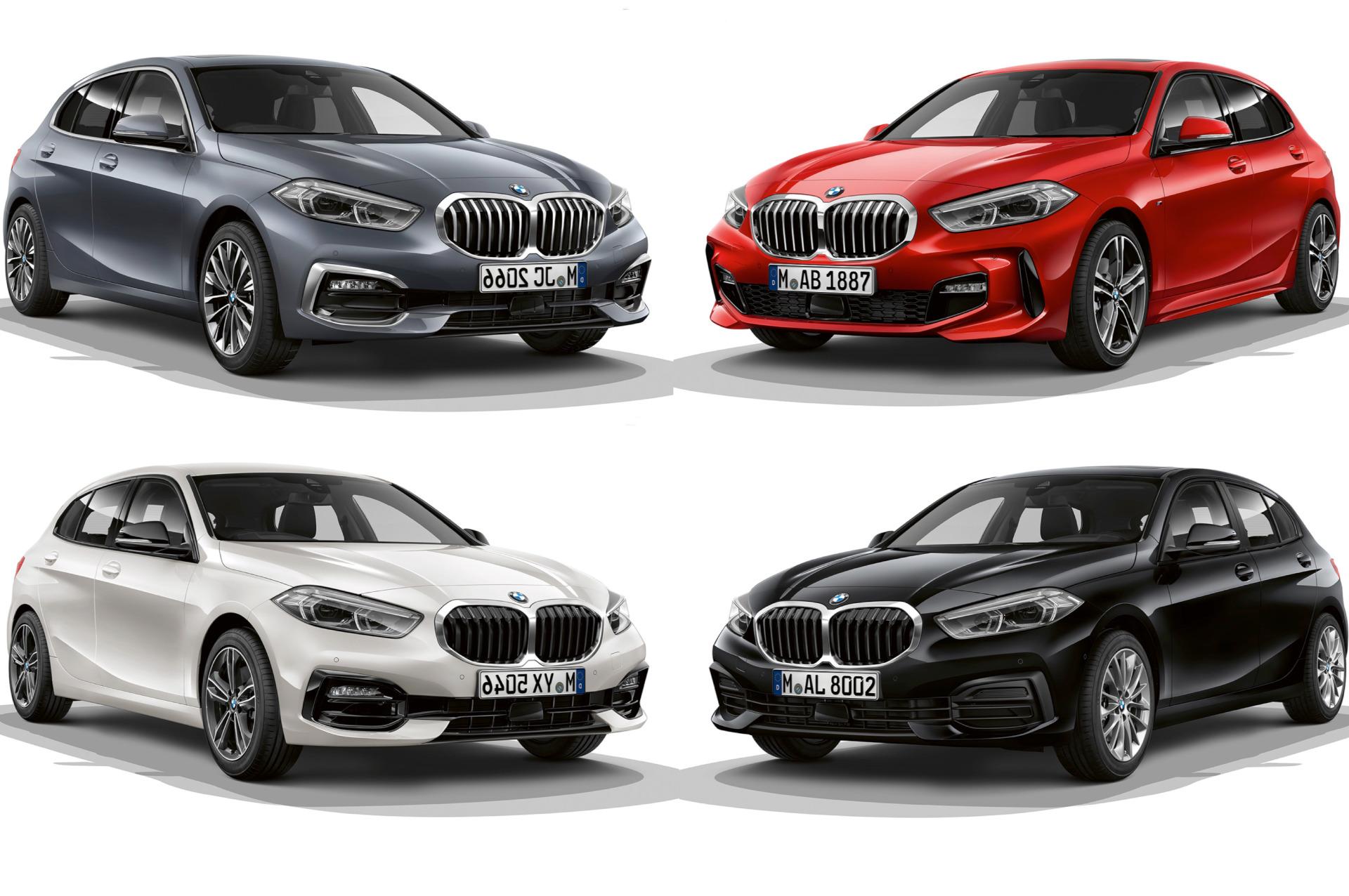 BMW 1er F40: M Sport, Sport Line & Luxury Line im Vergleich