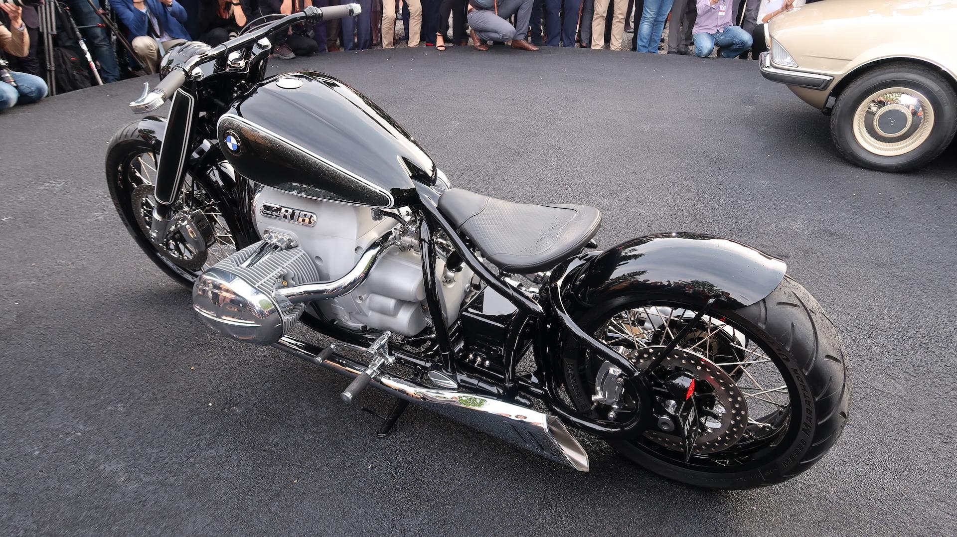 Bmw Motorrad Concept R18 Bike Studie Auf Dem Concorso D Eleganza