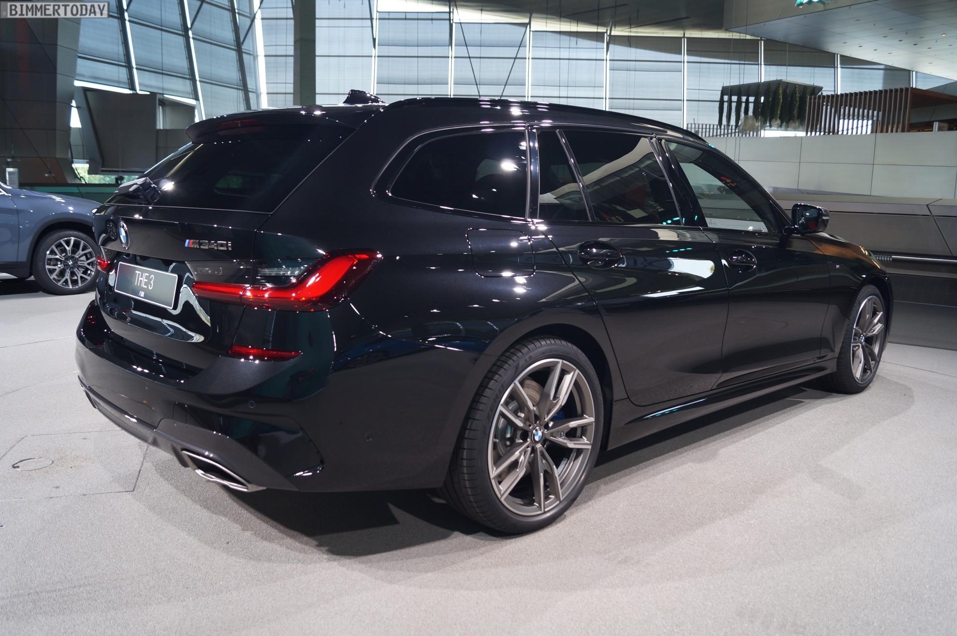 BMW M4 Cs >> #NextGen 2019: Live-Fotos zum BMW 3er Touring G21 als M340i