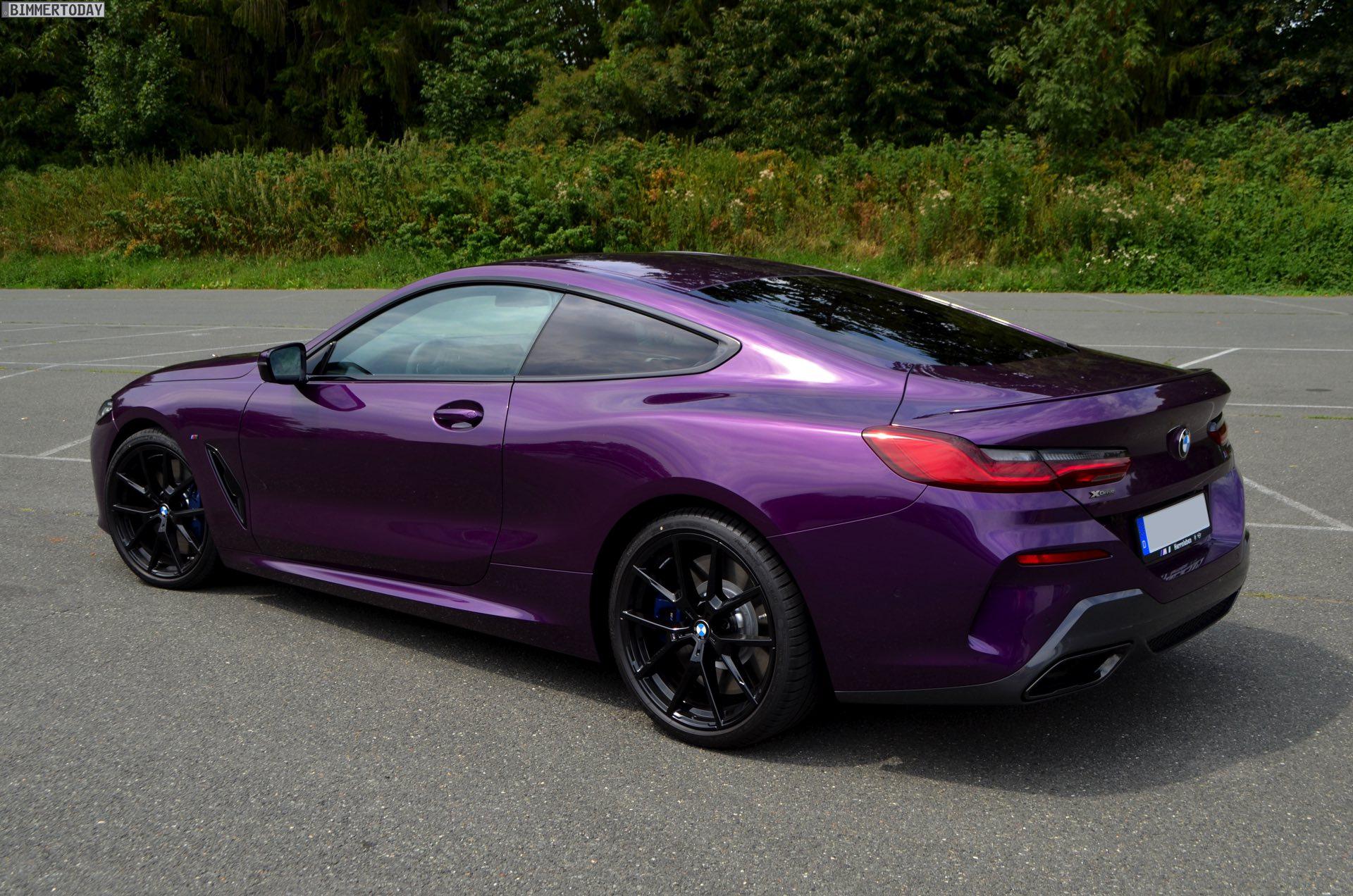 Twilight Purple Lila Individual Lackierung Am Bmw 8er Coupé
