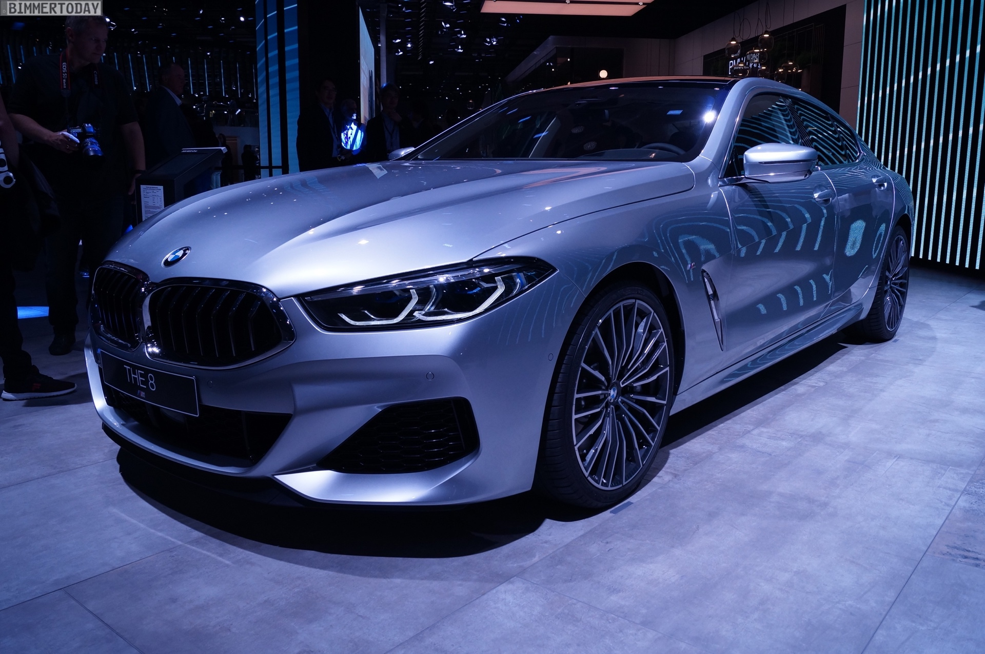 BMW M4 Coupe >> IAA 2019: BMW 8er Gran Coupé als M850i in Pure Metal Silver