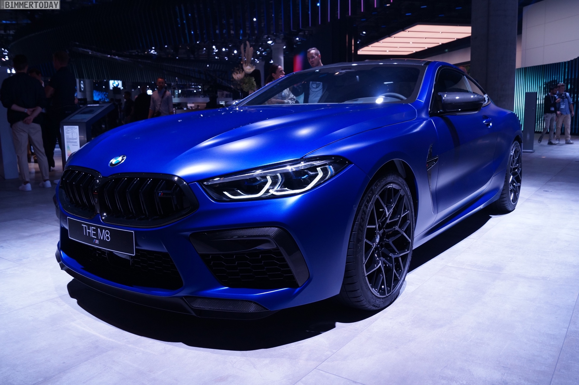 Iaa 2019 Bmw M8 Competition In Frozen Marina Bay Blue