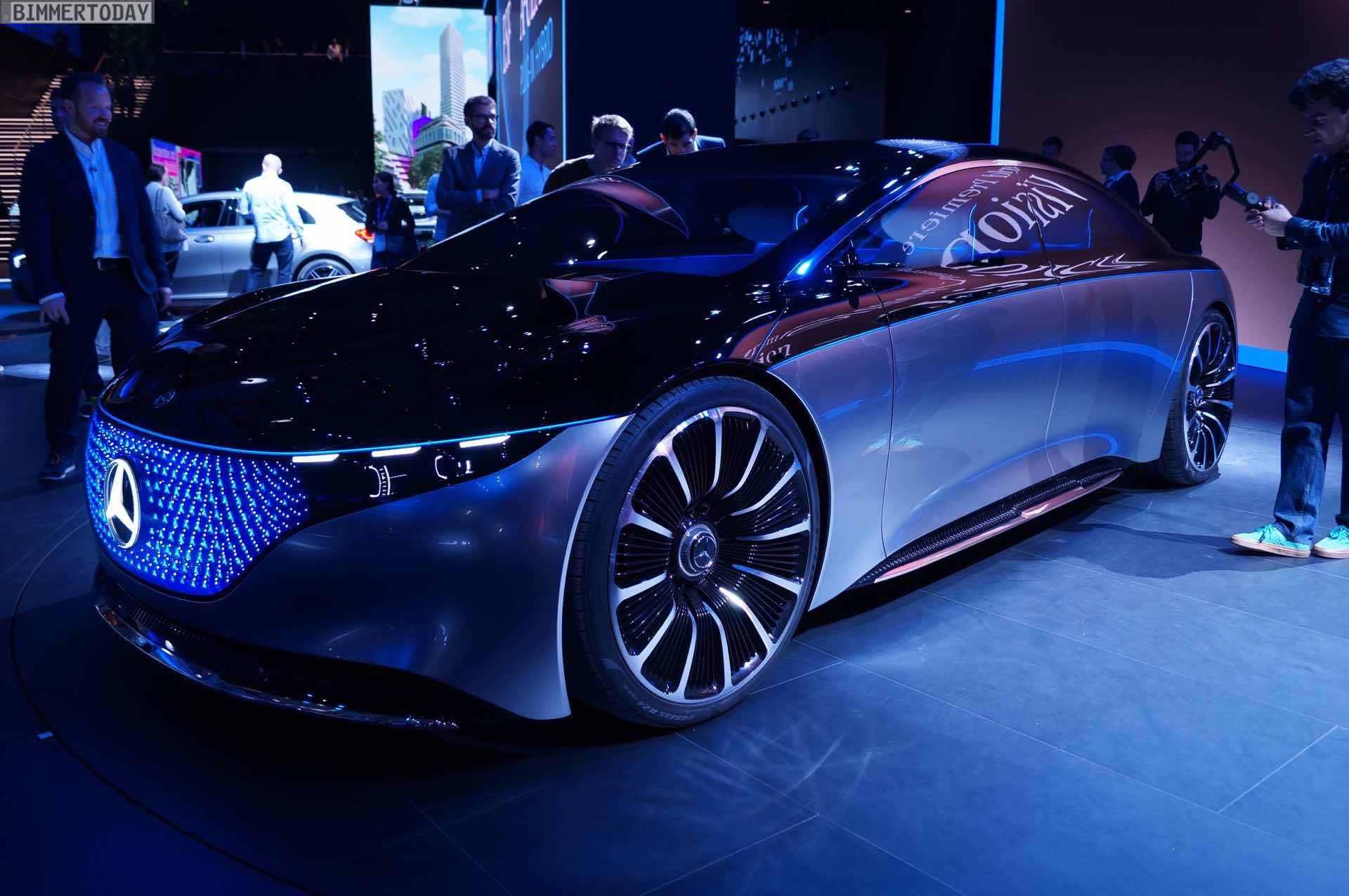 Iaa 2019 Mercedes Eqs Vision Als Vorbote Der Elektro S Klasse
