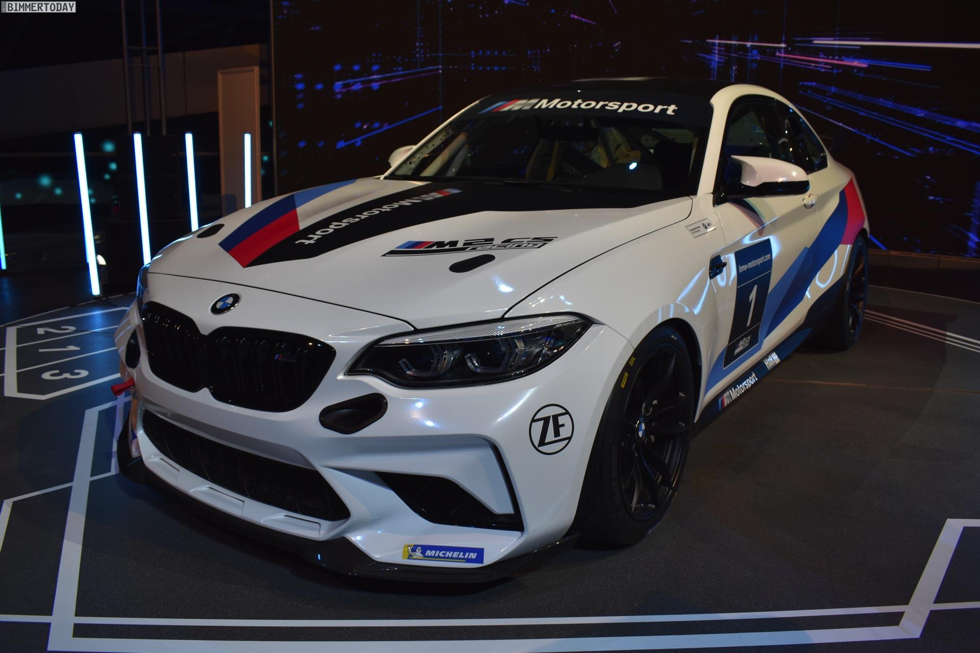 Bmw M2 Cs Racing Erste Live Fotos Vom Kundensport F87