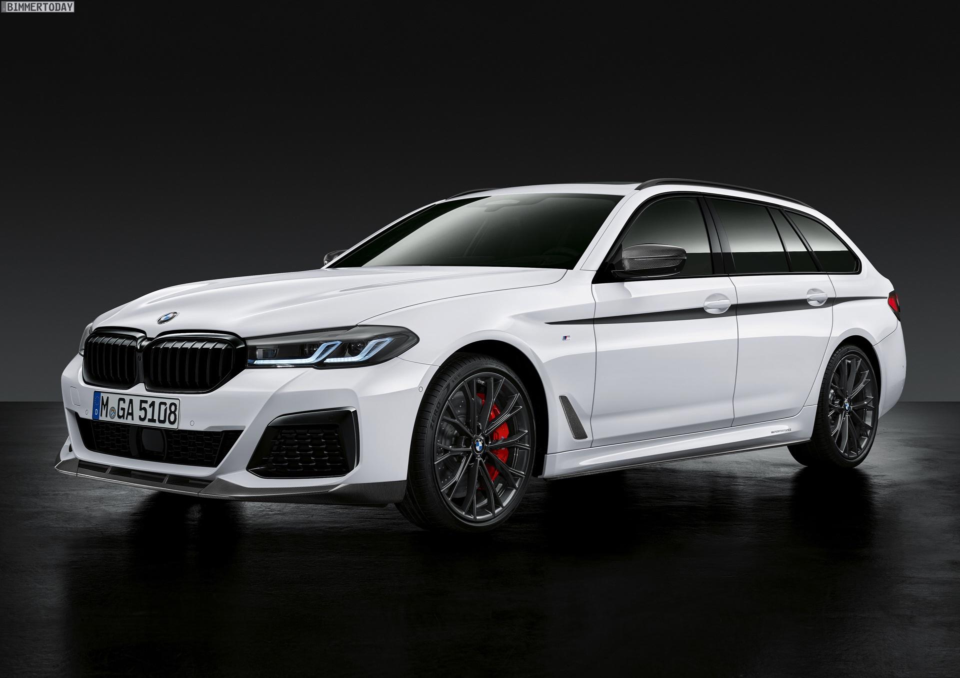 BMW 5er Facelift 2020: Erste Fotos mit M Performance-Tuning