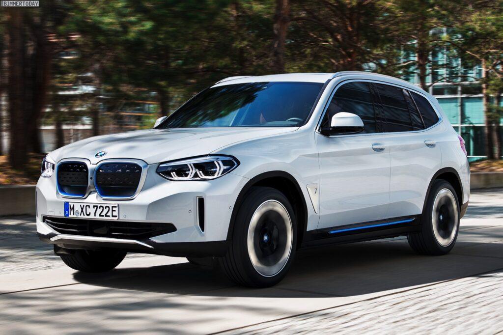 BMW X3 Facelift 2021: Erste Erlkönig-Fotos vom G01 LCI