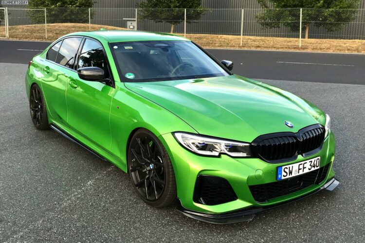 Ffr Bmw M340i G20 Tuning 3er Mit 500 Ps In Java Green