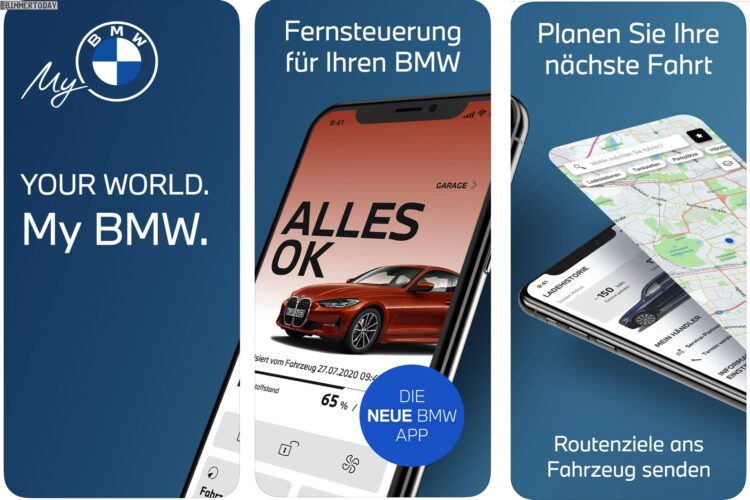 My Bmw Ersetzt Bisherige Bmw Connected App Für Iphone Co