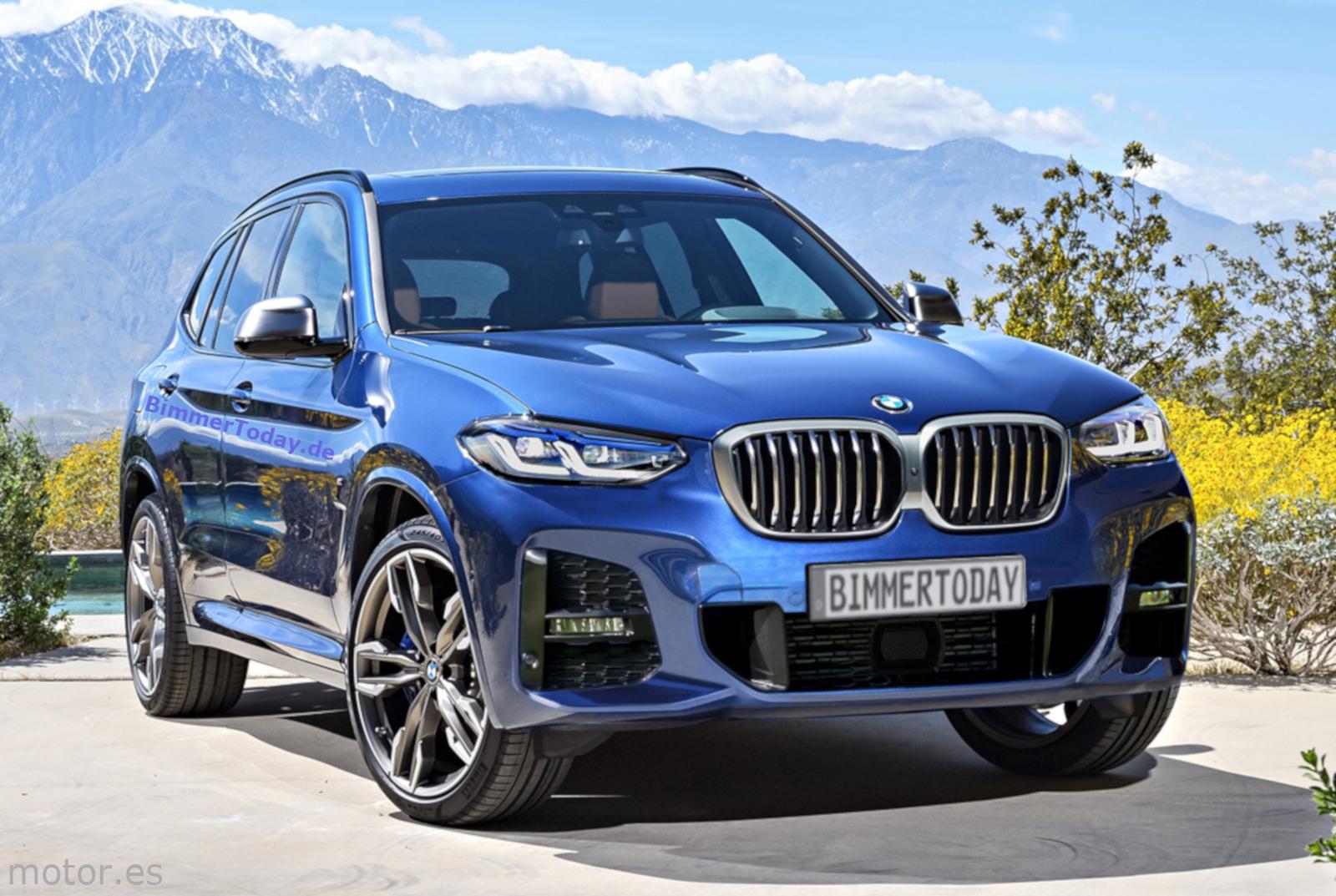 Bmw X3 Facelift 2021 Entwurf Zeigt G01 Lci Mit Neuer Niere
