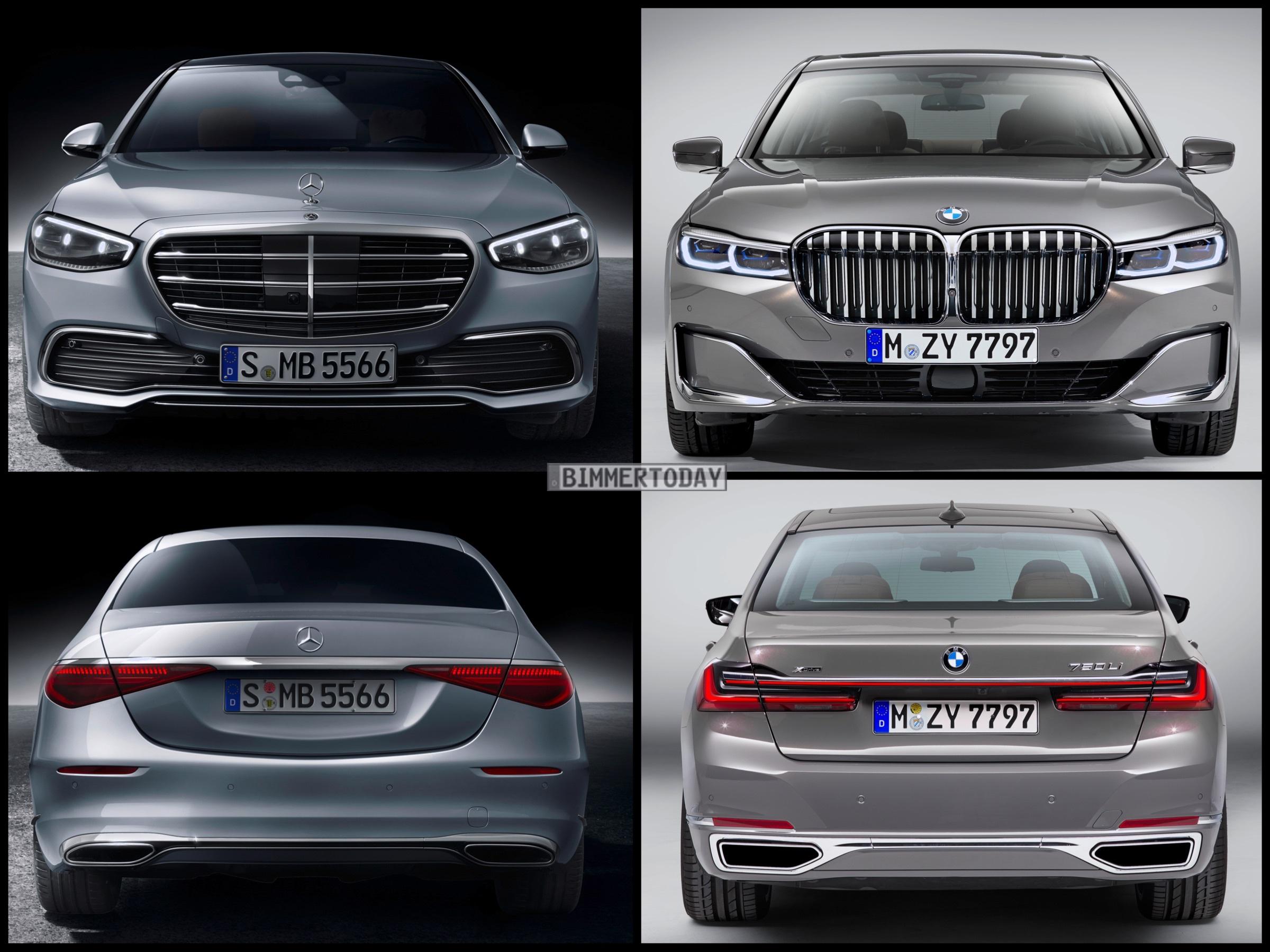 Mercedes S-Klasse 2021: BMW 7er-Rivale im Bild-Vergleich