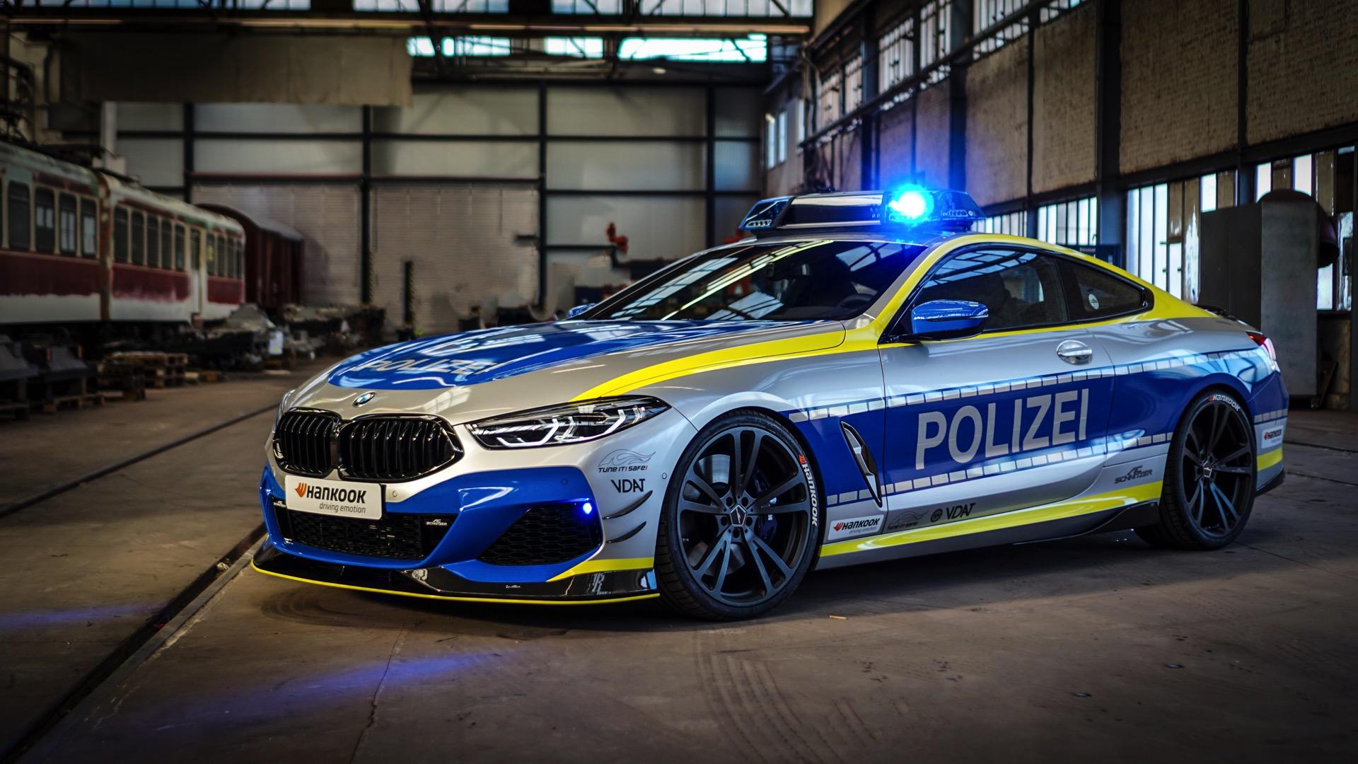 Tuning Polizei Ac Schnitzer Baut Bmw 8er Für Tune It Safe